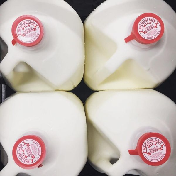 Mapleline Farm Whole Milk 1/2 Gallon