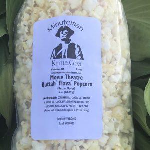Minuteman Movie Butter Popcorn