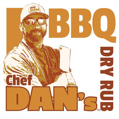 Chef Dan BBQ Rub Logo