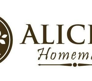 Alicia's homemade logo