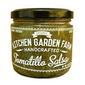 Kitchen garden Farm Organic Tomatillo Salsa